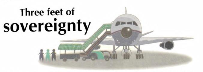 Three feet of sovereignty